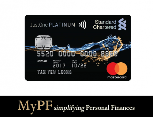Standard Chartered JustOne Platinum Credit Card Review